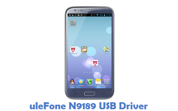 uleFone N9189 USB Driver