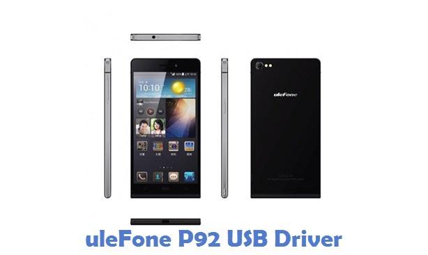 uleFone P92 USB Driver