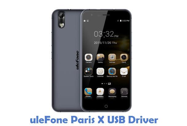 uleFone Paris X USB Driver