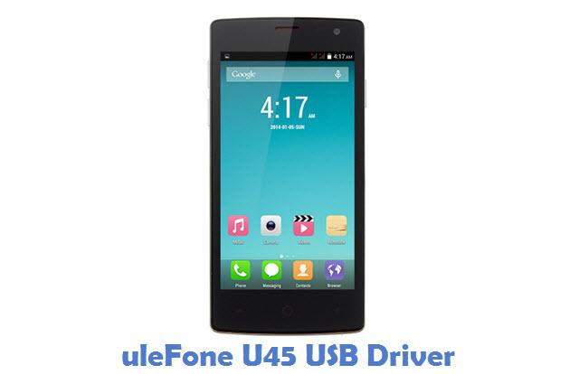 uleFone U45 USB Driver