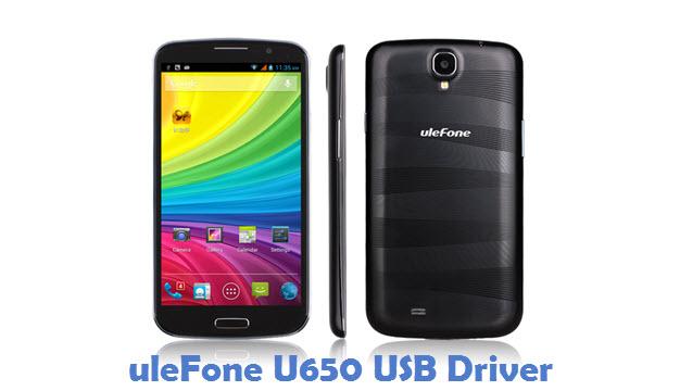uleFone U650 USB Driver