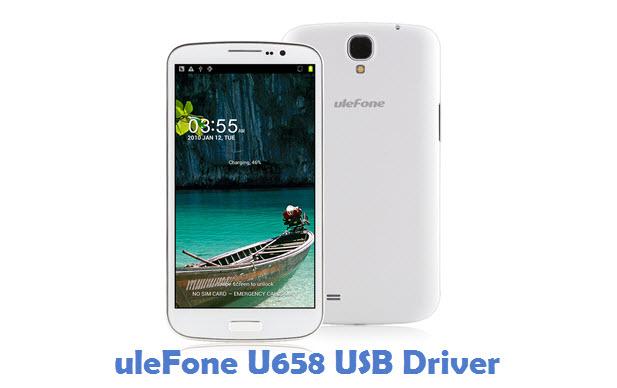 uleFone U658 USB Driver