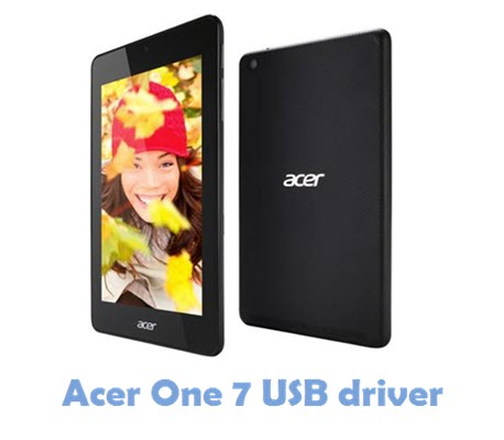 Download Acer One 7 USB Driver