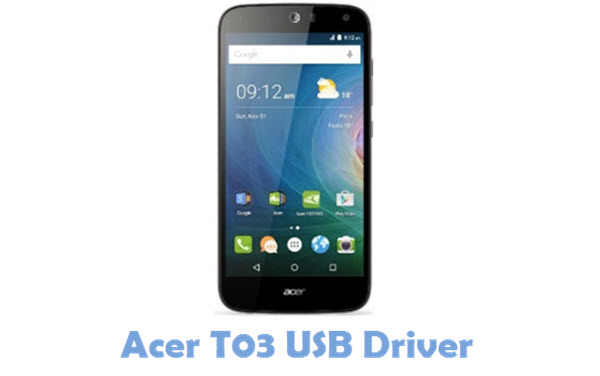Download Acer T03 USB Driver