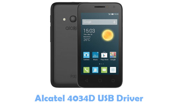 Download Alcatel 4034D USB Driver
