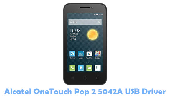 Download Alcatel OneTouch Pop 2 5042A USB Driver
