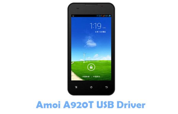 Amoi A920T USB Driver