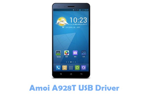 Download Amoi A928T USB Driver
