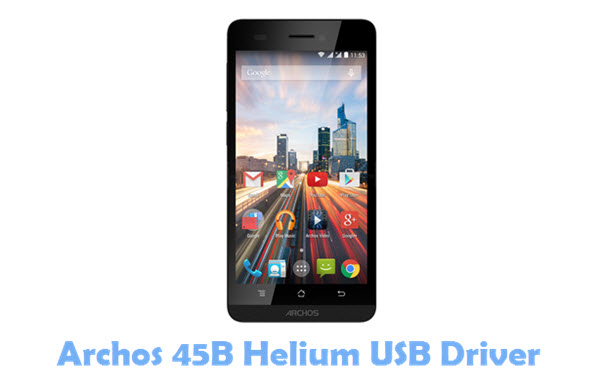 Download Archos 45B Helium USB Driver