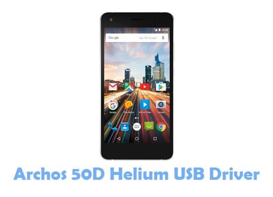 Archos 50D Helium USB Driver