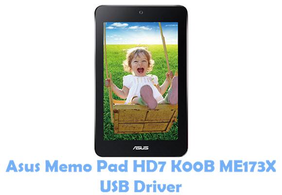 Asus Memo Pad HD7 K00B ME173X USB Driver