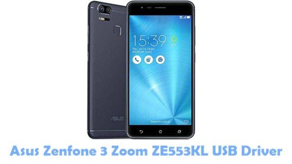 Asus Zenfone 3 Zoom ZE553KL USB Driver