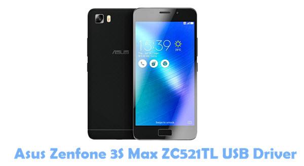 Download Asus Zenfone 3S Max ZC521TL USB Driver