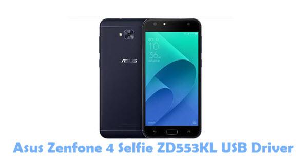 Download Asus Zenfone 4 Selfie ZD553KL USB Driver