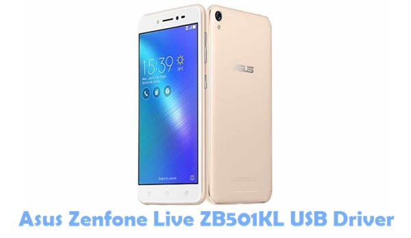 Download Asus Zenfone Live ZB501KL USB Driver