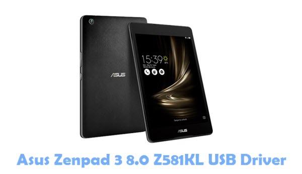 Download Asus Zenpad 3 8.0 Z581KL USB Driver