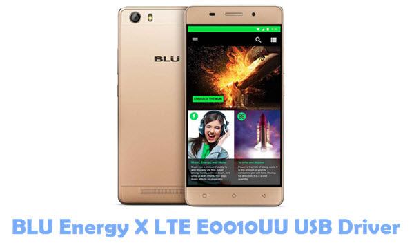 Download BLU Energy X LTE E0010UU USB Driver