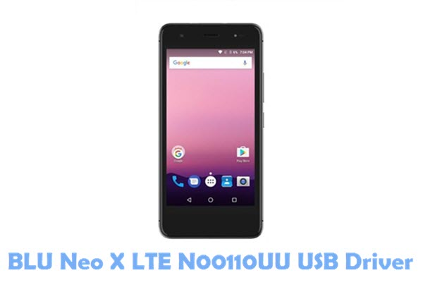 Download BLU Neo X LTE N00110UU USB Driver