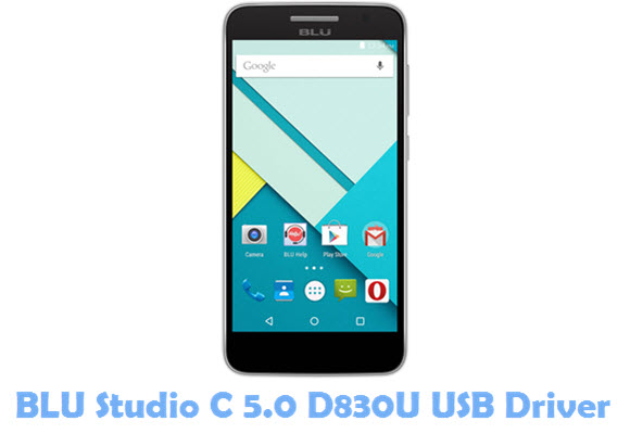 Download BLU Studio C 5.0 D830U USB Driver
