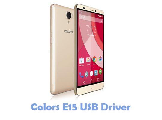 Download Colors E15 USB Driver
