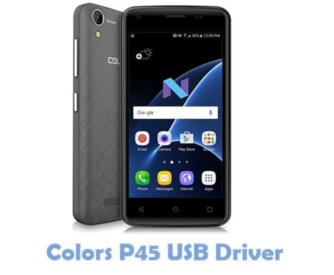 Download Colors P45 USB Driver