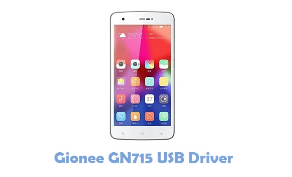 Download Gionee GN715 USB Driver