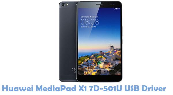 Download Huawei MediaPad X1 7D-501U USB Driver