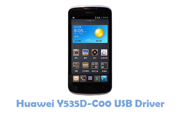 Download Huawei Y535D-C00 USB Driver
