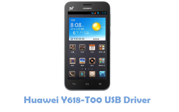 Download Huawei Y618-T00 USB Driver