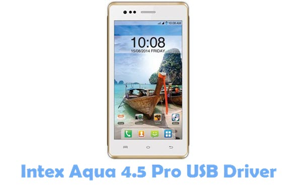 Download Intex Aqua 4.5 Pro USB Driver