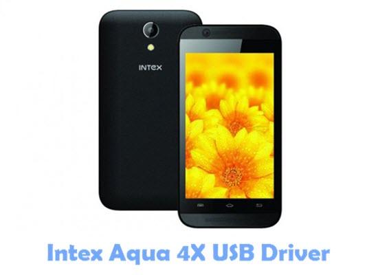Download Intex Aqua 4X USB Driver