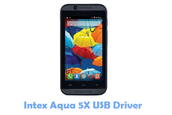 Download Intex Aqua 5X USB Driver