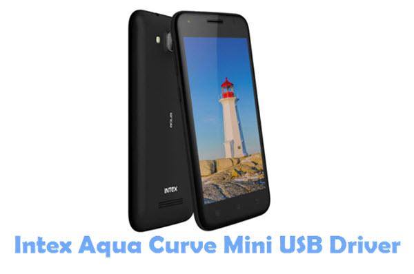 Download Intex Aqua Curve Mini USB Driver