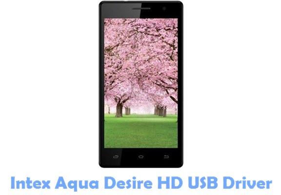 Download Intex Aqua Desire HD USB Driver