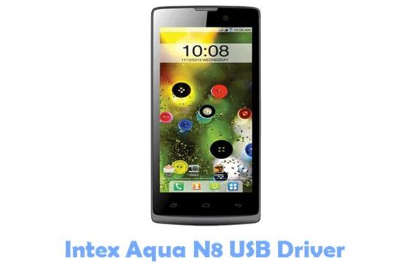 Download Intex Aqua N8 USB Driver