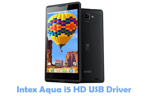Download Intex Aqua i5 HD USB Driver