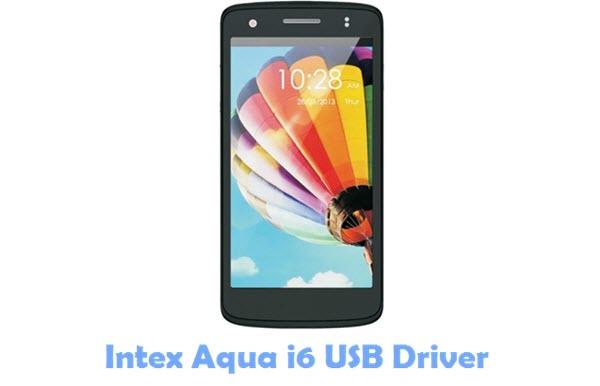 Download Intex Aqua i6 USB Driver