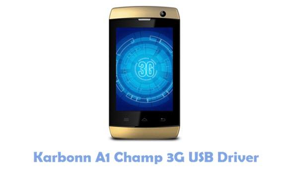 Download Karbonn A1 Champ 3G USB Driver
