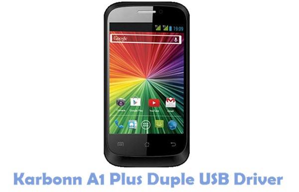 Download Karbonn A1 Plus Duple USB Driver