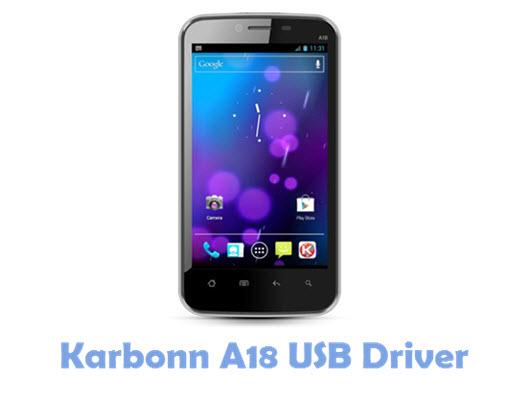 Download Karbonn A18 USB Driver