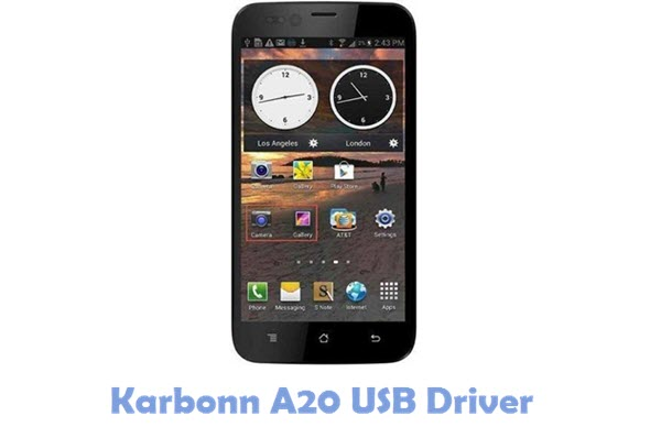 Download Karbonn A20 USB Driver