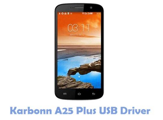 Download Karbonn A25 Plus USB Driver