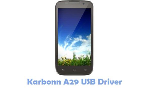 Download Karbonn A29 USB Driver