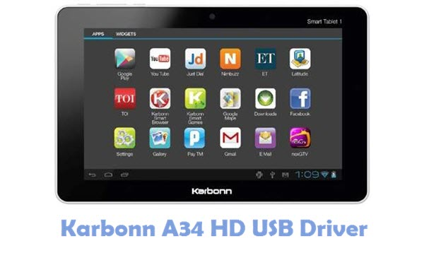 Download Karbonn A34 HD USB Driver