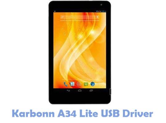 Download Karbonn A34 Lite USB Driver