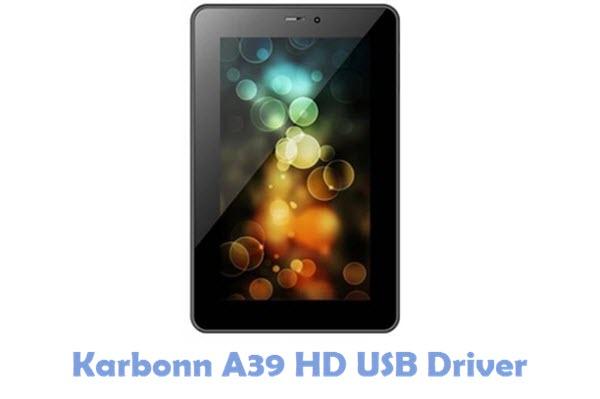 Download Karbonn A39 HD USB Driver
