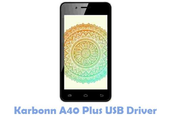 Download Karbonn A40 Plus USB Driver
