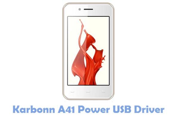 Download Karbonn A41 Power USB Driver