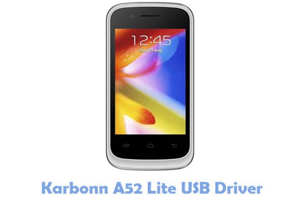 Download Karbonn A52 Lite USB Driver