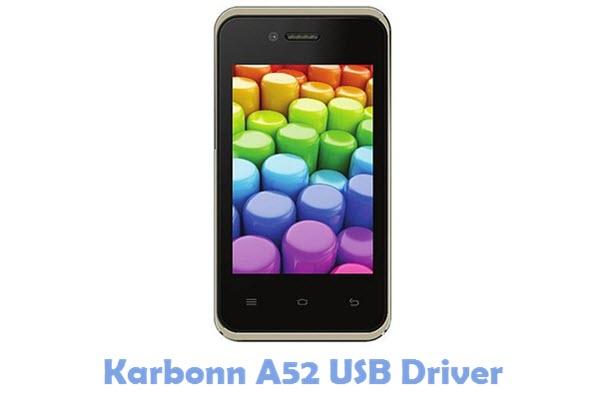 Download Karbonn A52 USB Driver